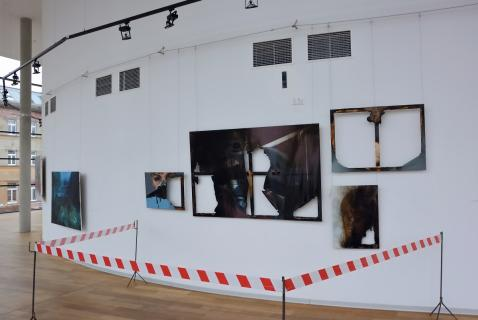 installation / death of my art, gallery Uffo, Trutnov